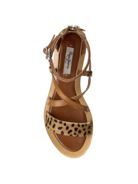 Páskové dámské kožené sandály Pepe Jeans GAYTON