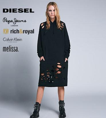 Diesel šaty overall
