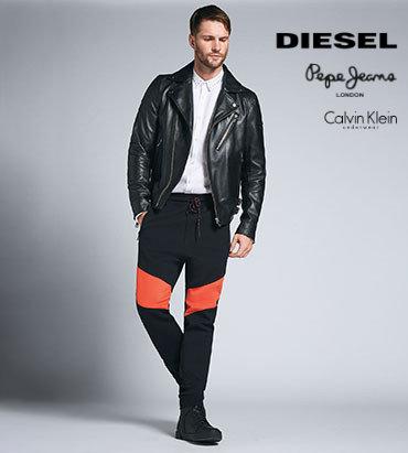 Diesel Pepe Jeans oblečení